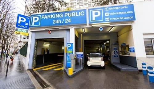 Pyr n es du clos car park paris 75020 car and truck - Parking paris porte d orleans ...